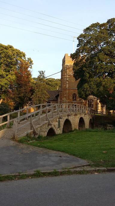 The Famous Pack Horse Bridge