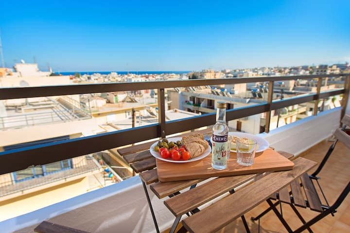 Amazing appartm,top views,near Old Town,2 balconie - Ρόδος - Wohnung