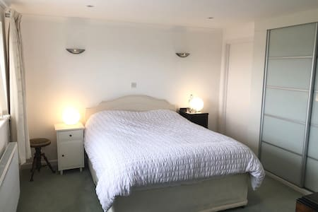 Large en-suite room with beautiful estuary views