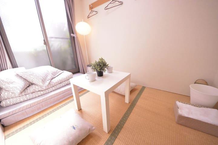 无印之家-文艺主题房 四线地铁开张大优惠 免清洁费、免人头费 - Ōsaka