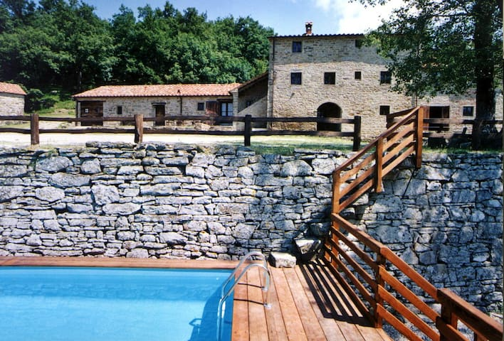 Santarsa, Villa without neighbors! - Sansepolcro - Villa