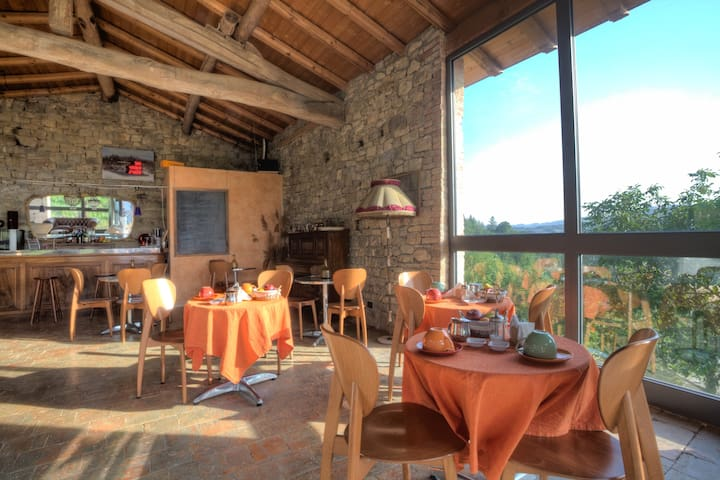 Farm House, B&b, Restaurant in the Mountain.Emilia - Pellegrino Parmense - Service appartement