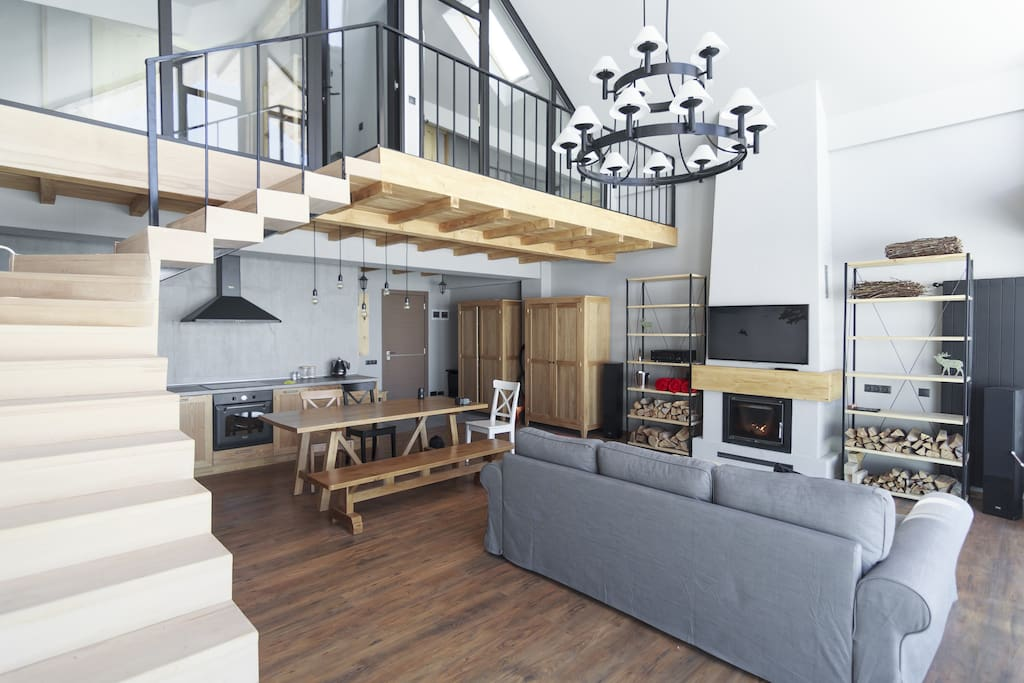 two level apartment