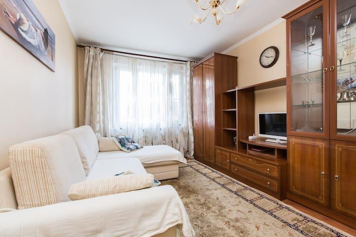 Апартаменты в Лобне двух комнмтные - 洛布尼亞(Lobnya) - 公寓