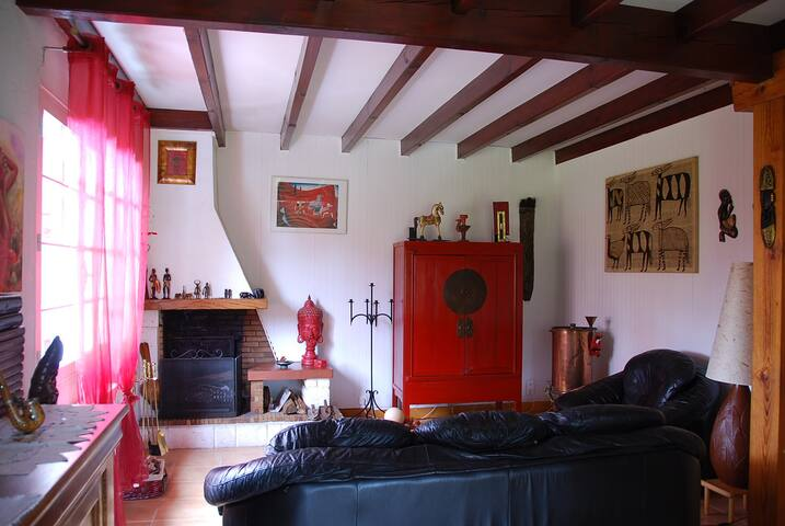 Mer Forêt 2 villas 6+4 pers  calme - Mézos - Villa