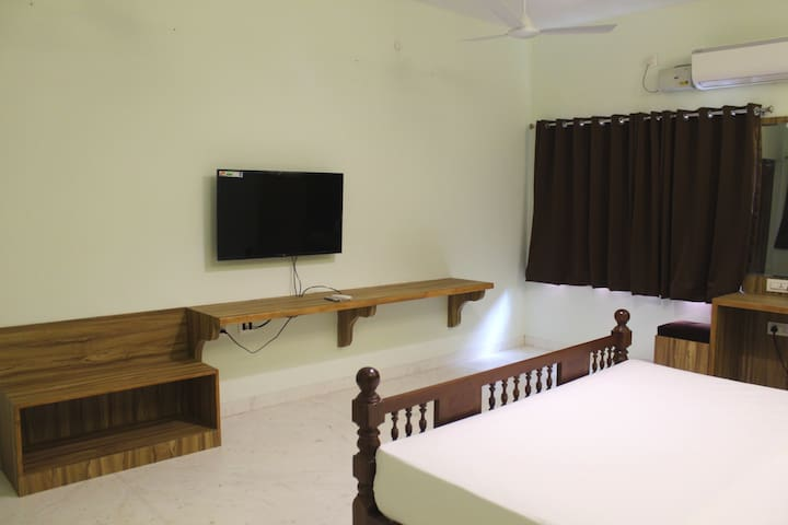 Room with LED TV 43 inches