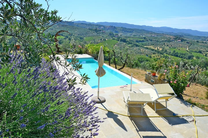 Design Villa in Tuscan Countryside - Montevarchi - Villa