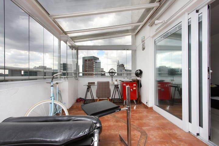 Cama em quarto compartilhado - São Paulo - Apartamento