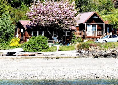 Charming Waterfront Home Hoodsport - Hoodsport - Cabin