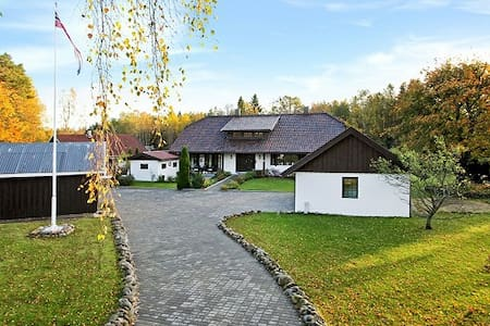 Manor close to the sea. - Fredrikstad - Villa