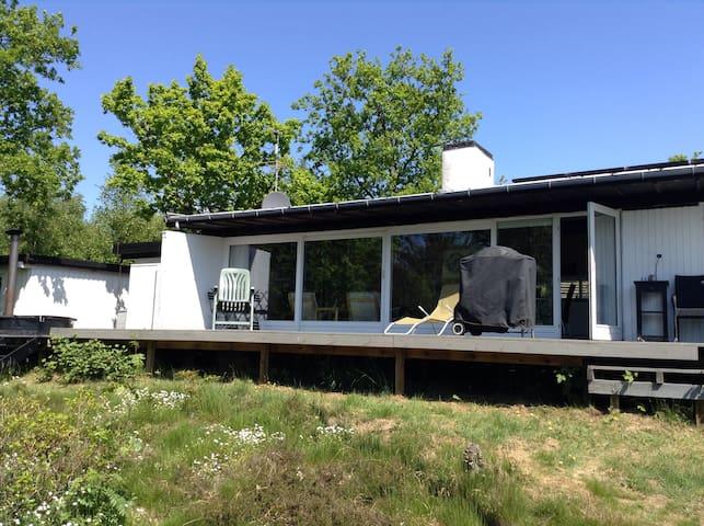 Summerhouse in quiet environment.