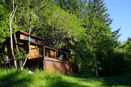 Retreat to Innisfree Cottage - just outside Eugene - Eugene - Kabin