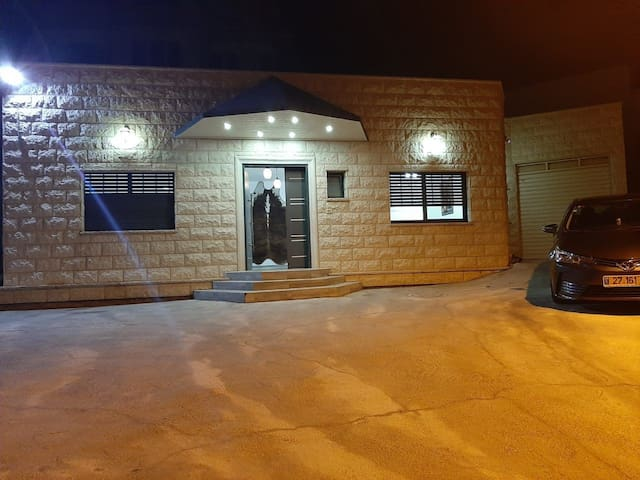 New house for rent in the Golan Heights