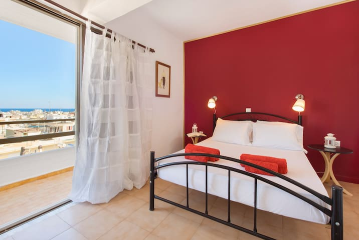 Cosy appartment, top views! Near old town. - Rhodes