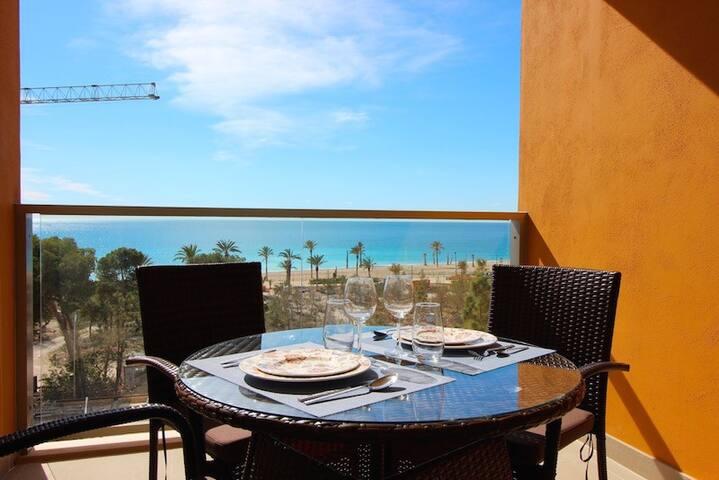 Luxury apartment with sea views - Benidorm - Apartment
