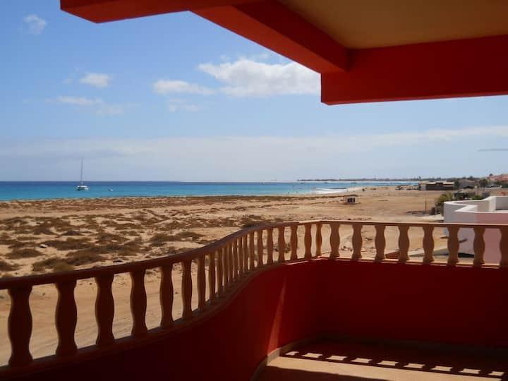 Coral apartment balcony sea view- wifi 3Gb