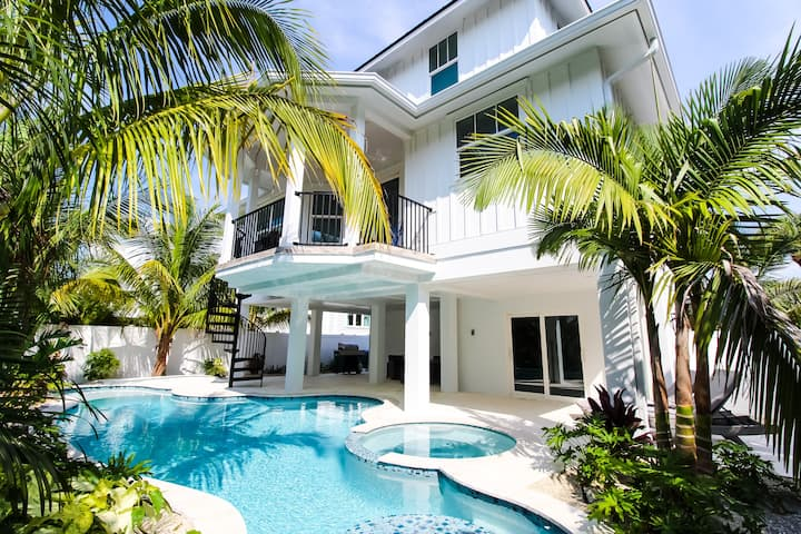 Beautiful New Construction Home In Perfect Location - Close to Beach!