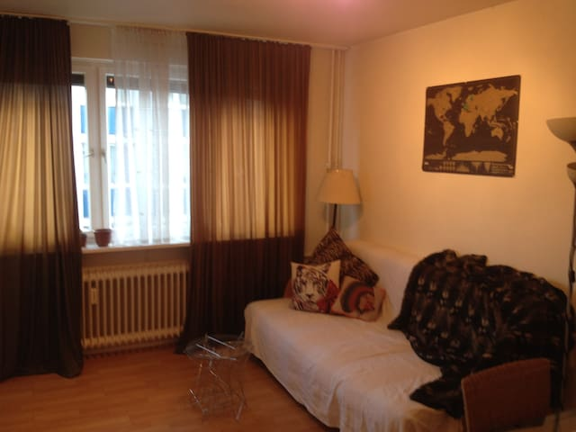 Right in the best area - must take care of my cat - Francfort-sur-le-Main - Appartement