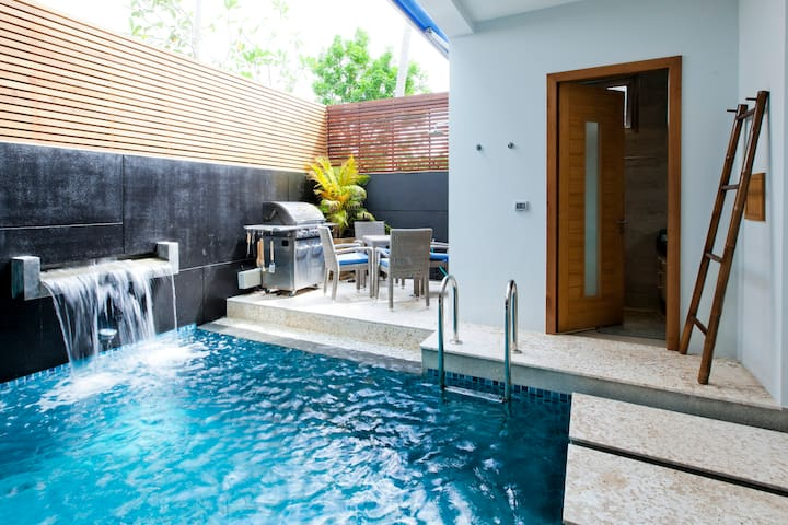 Stunning private pool townhouse, close to ocean - Tambon Rawai - 타운하우스