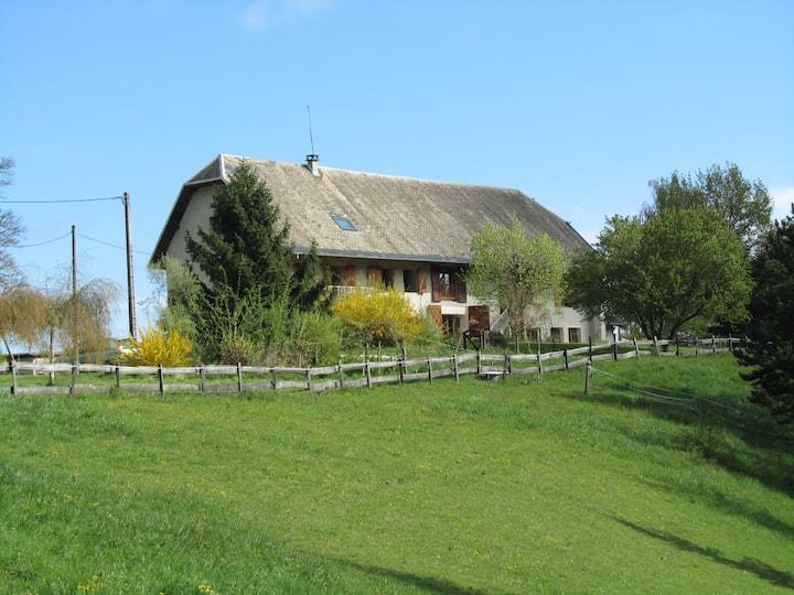 proche de Chambéry en pleine nature