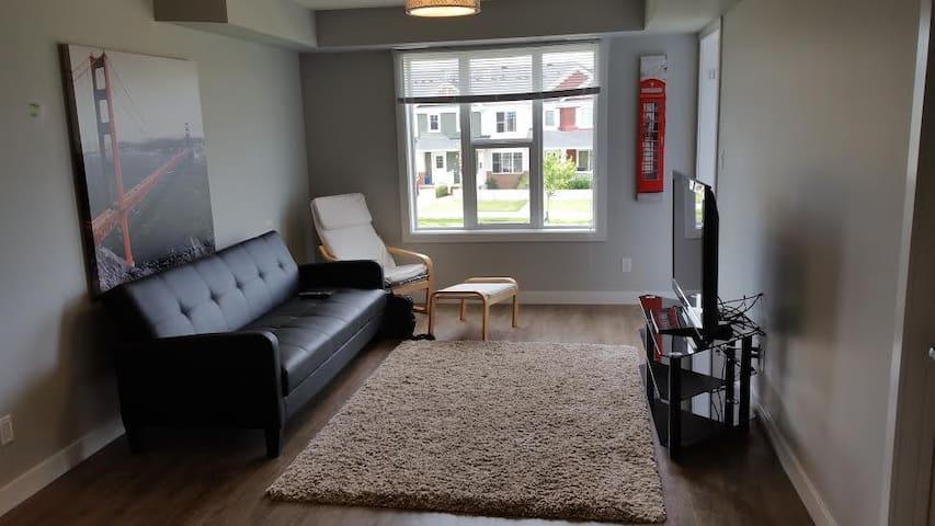 One Bedroom in New Modern Harbour Landing Condo