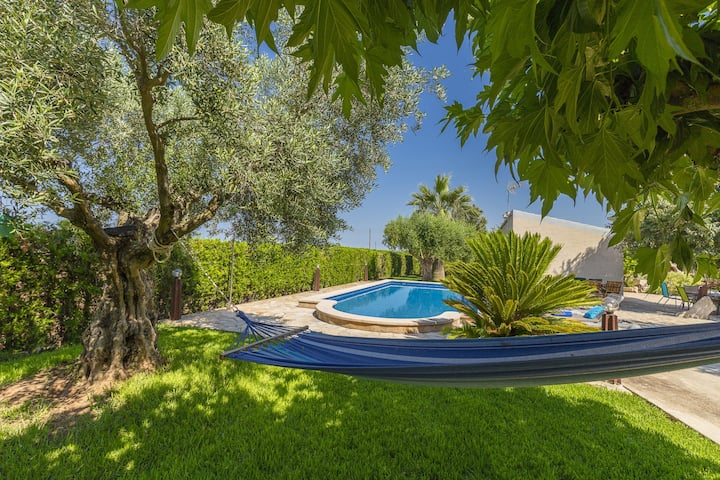 NEW! Son Fornari: Great and quiet finca with pool