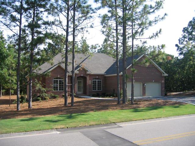 Attractive Custom Home in Pinehurst