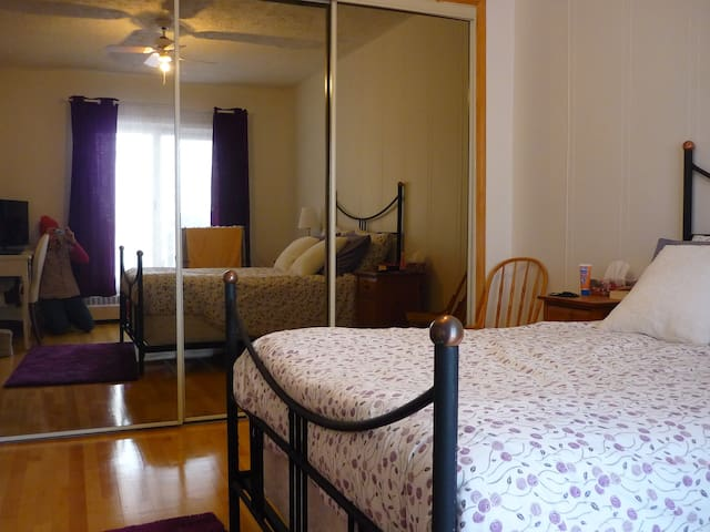 Appartement avec chambre spacieuse/Rosemont