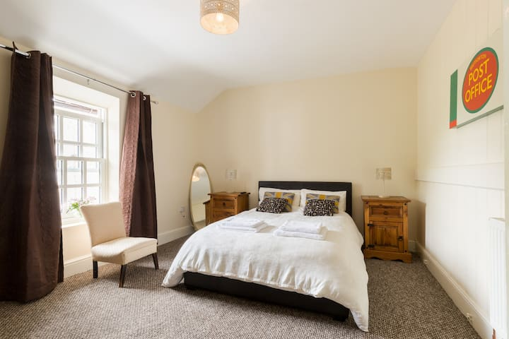 Bedroom 2 with double bed wardrobe and bedside cabinets