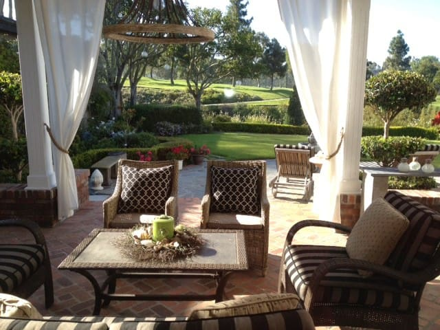 Your private retreat for a morning cup of coffee, or perhaps lounging all day with a good book!