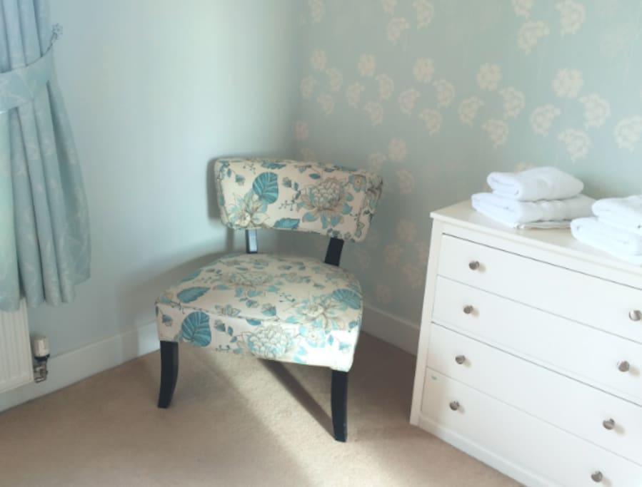 Double bedroom - there's plenty of storage