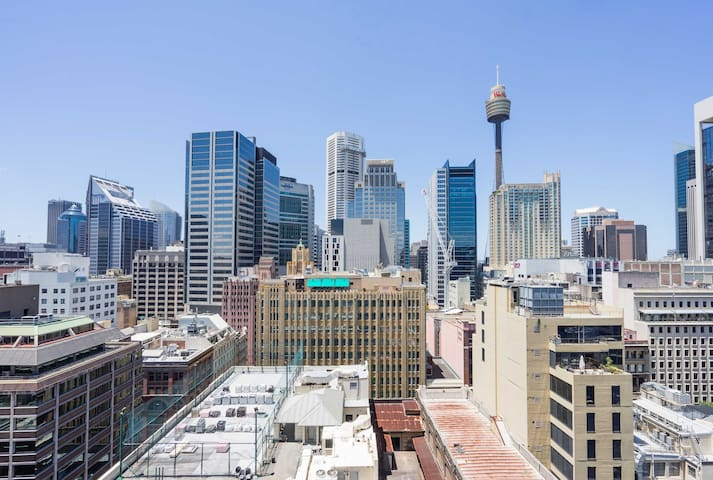 City Skyline Views One Bedroom Apartment