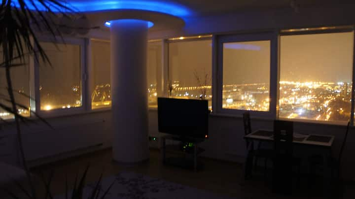 25-th floor Sea View Apartment