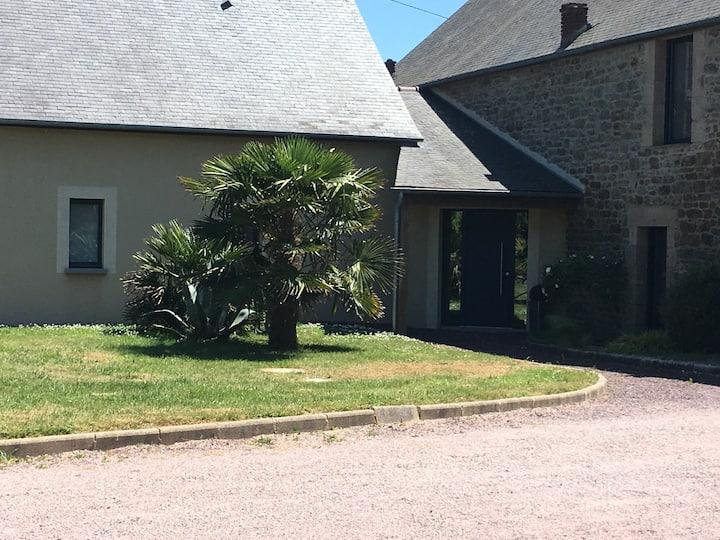 Maison tranquille Saint-Lunaire avec piscine