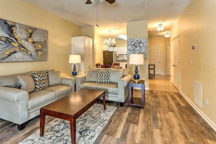 Modern Savannah Shores Condo w/ Resort Amenities!