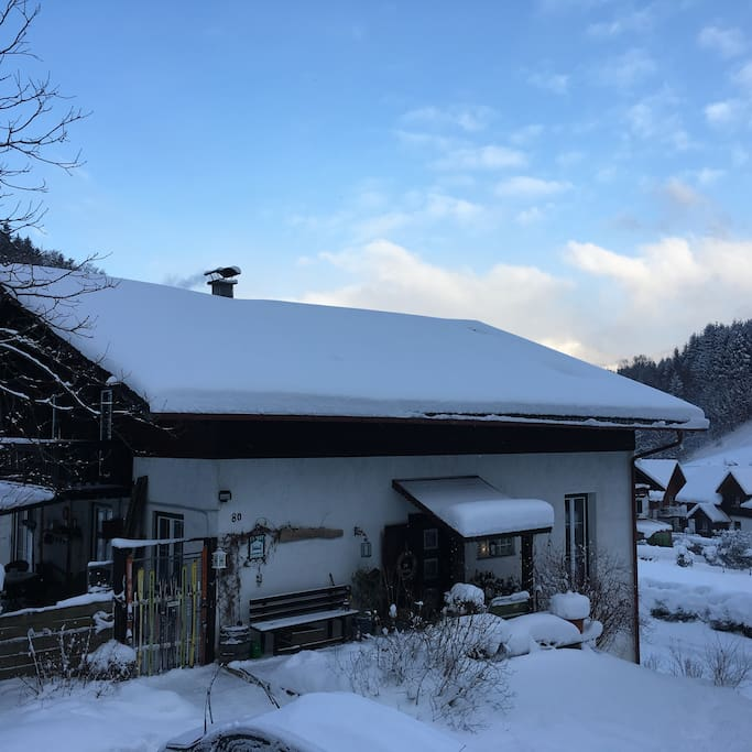 Landhaus Fay in Winter