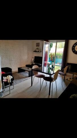 Très bel appartement F2  Proche Disney&Paris