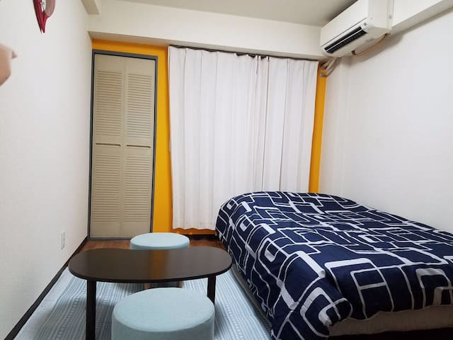 Sale price! Clean & simple + p.wifi - Sumiyoshi Ward, Osaka - Leilighet
