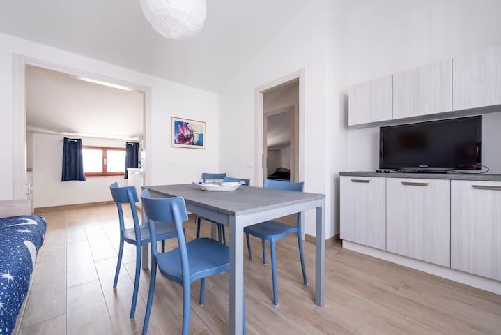Appartamento Blu a pochi passi dalla spiaggia