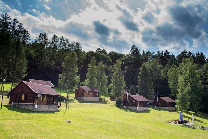 Złoty Potok Resort Domek drewniany Roma