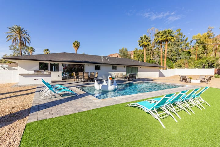20% OFF! CAMELBACK MTN 5BED! 3 MINS TO OLD TOWN!