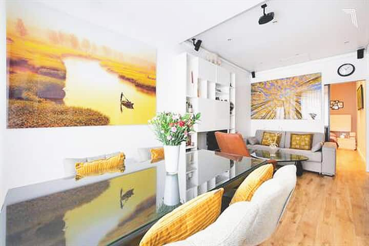 ROMANTIC MODERN FLAT 10 min paris