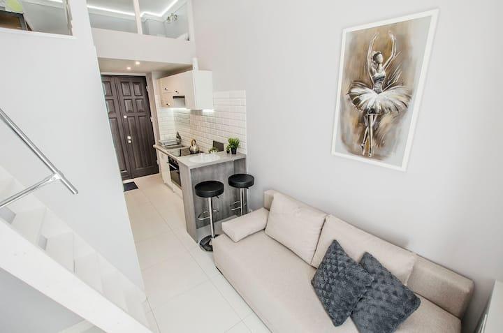 Piękne apartamenty obok  PKP Łodzi Fabryczna