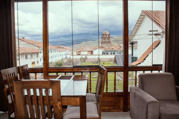 Maruri's Home Cusco Q - The best location!