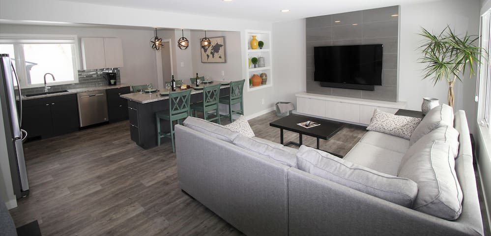 Modern. Luxury. Home for Small Groups and Families