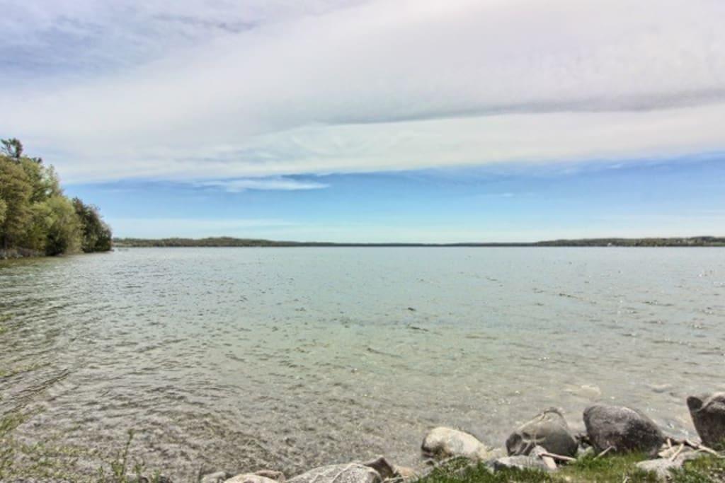 Beautiful 30 mile long Lake Leelanau