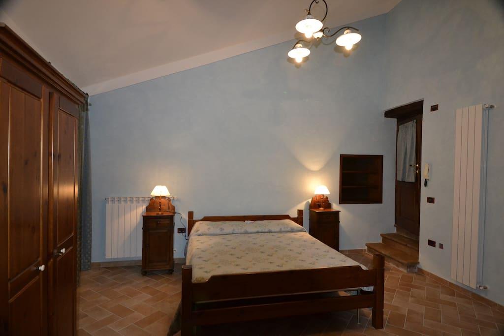 la stanza al piano primo