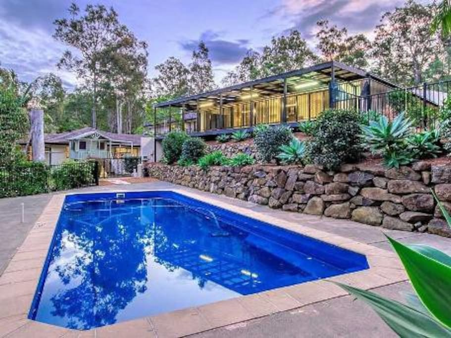 gold coast hinterland retreat houses for rent in