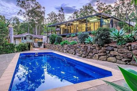 Gold Coast Hinterland Retreat - Worongary - บ้าน