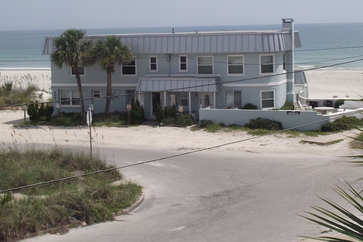One of 4 units available in our beautiful home directly on the sands of New Smyrna Beach.